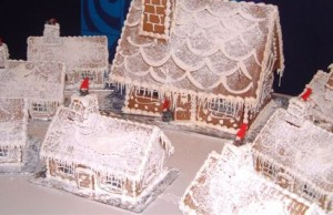 Gingerbread Houses from Mussel Inn.