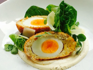 Smoked Haddock Scotch Egg