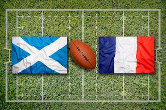 6 Nations Rugby Murrayfield Edinburgh Scotland v France