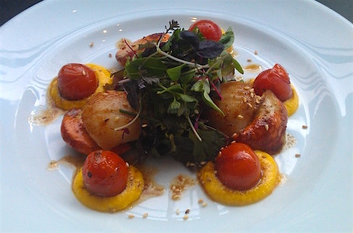 Mussel Inn seafood restaurant Edinburgh Glasgow Pan Fried King Scallops