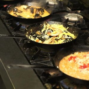 There's always a mussel bonanza in the Mussel Inn kitchen